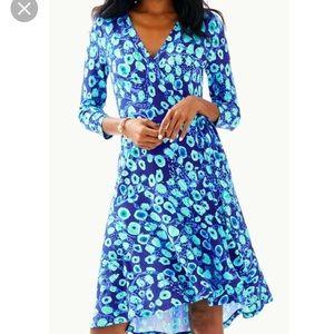 Dresses & Skirts - Lilly Pulitzer Royal Purple Lil Kitty Wrap Dress